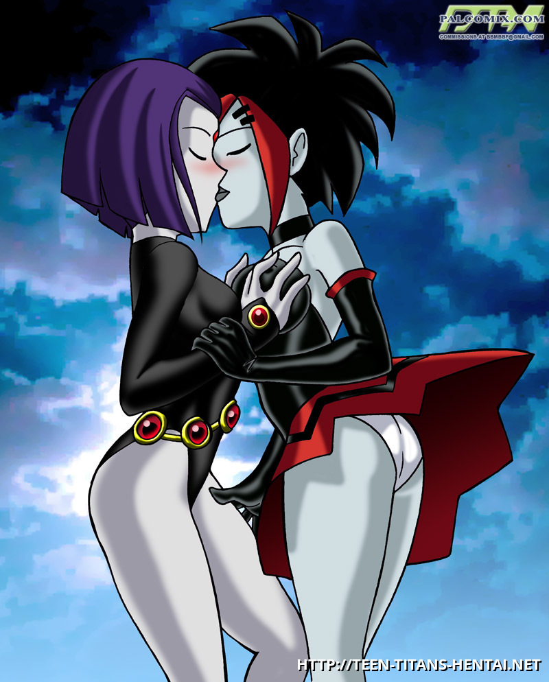 Apologise, but, Teen titans raven porn